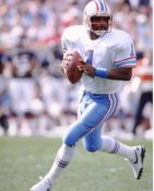 Warren Moon Houston Oilers 8X10 Photo