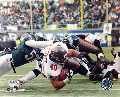 Mike Alstott G1 Limited Stock Rare Buccaneers 8X10 Photo