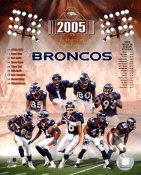Denver 2005 Broncos Team 8x10 Photo