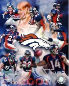 Denver 2001-2002 Broncos Team 8x10 Photo