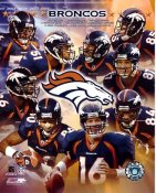 Denver 2003-2004 Broncos Team 8x10 Photo