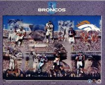Denver 1999 Broncos Team 8x10 Photo