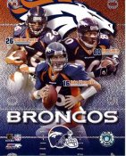 Rod Smith, Clinton Portis, Jake Plummer LIMITED STOCK Denver Broncos 8X10 Photo