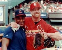 Sammy Sosa & Mark McGwire LIMITED STOCK No Hologram Cubs & Cardinals 8X10 Photo
