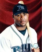 Carl Crawford G1 Limited Stock Rare Rays 8X10 Photo