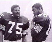 Joe Greene & LC Greenwood Pittsburgh Steelers 8x10