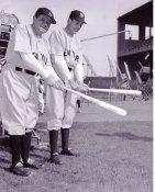 Gary Cooper & Babe Ruth New York Yankees 8X10 Photo