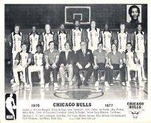 Chicago Bulls Team 1976-1977 w/ Facsimile Signatures On Back G1 Limited Stock Rare 8X10 Photo