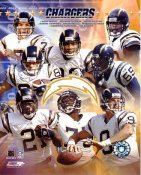 Chargers 2003 San Diego Team 8X10 Photo