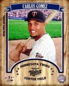 Carlos Gomez LIMITED STOCK Minnesota Twins 8X10 Photo