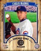 Carlos Marmol 2009 Studio Chicago Cubs 8X10 Photo