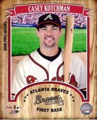 Casey Kotchman 2009 Studio Atlanta Braves 8X10 Photo