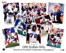 Buffalo 1993 Bills Team Composite 8X10 Photo  LIMITED STOCK -