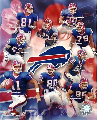Bills 2001 Buffalo Team 8x10 Photo