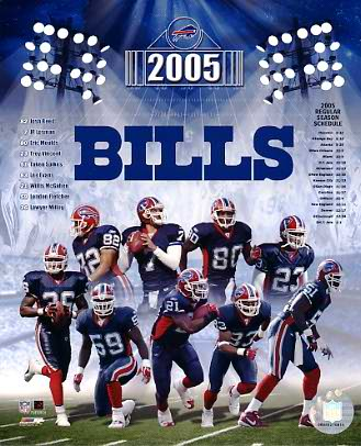 Bills 2005 Buffalo Team 8x10 Photo