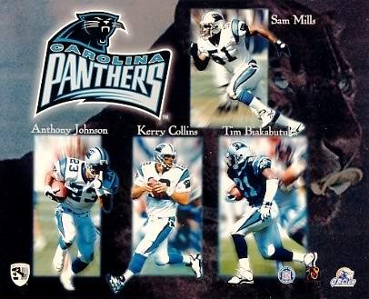 Panthers 1997 Carolina Team 8X10 Photo