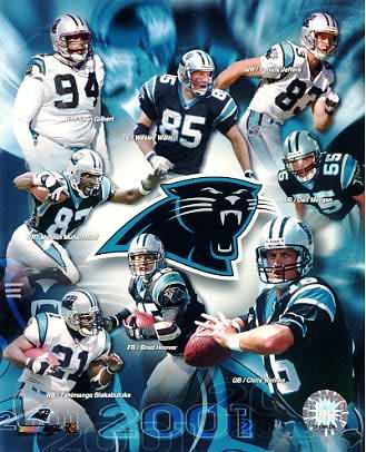 Panthers 2001-2002 Carolina Team 8X10 Photo