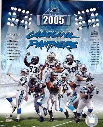 Panthers 2005 Carolina Team 8X10 Photo