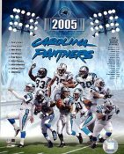 Panthers 2005 Carolina Team 8X10 Photo