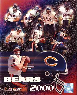 Bears 2000 Chicago Team 8X10 Photo