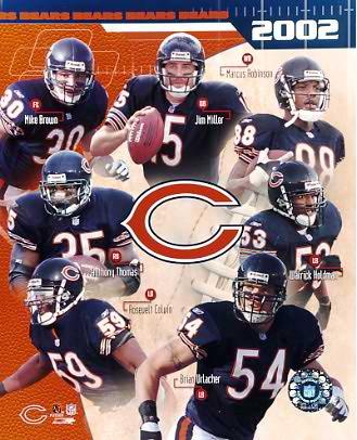 Bears 2002 Chicago Team 8X10 Photo