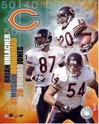 Thomas Jones, Mushin Muhammad, Brian Urlacher Big 3 2005 Chicago Bears 8X10 Photo