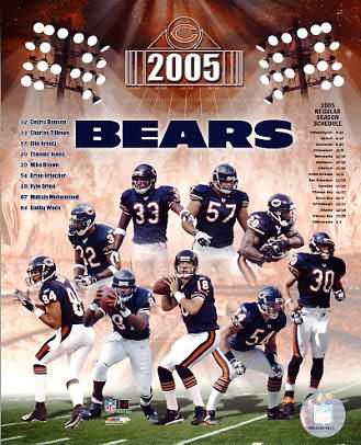 Bears 2005 Chicago Team 8X10 Photo