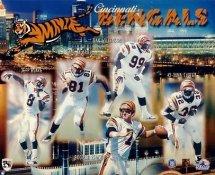 Bengals 1997 Cincinnati Team 8x10 Photo