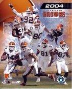 Browns 2004 Cleveland Team  8X10 Photo