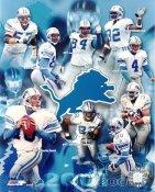 Lions 2001-2002 Detroit Team 8X10 Photo