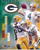 Donald Driver, Brett Favre, Ahman Green Big 3 Packers LIMITED STOCK 8X10 Photo