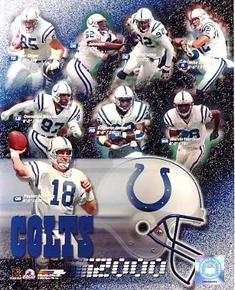 Colts 2000 Indianapolis Team 8X10 Photo