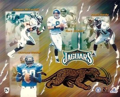 Jaguars 1998 Jacksonville Team 8x10 Photo
