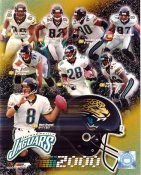 Jaguars 2000 Jacksonville Team 8x10 Photo