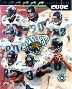 Jaguars 2002 Jacksonville Team 8x10 Photo