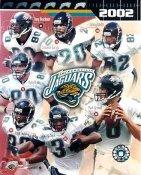 Jaguars 2002 Jacksonville Team 8x10 Photo