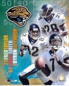 Byron Leftwich, Jimmy Smith, Fred Taylor Jaguars 2005 Big 3 8X10 Photo