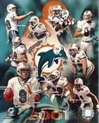 Dolphins 2001 Miami Team 8x10 Photo