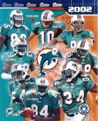 Dolphins 2002 Miami Team 8x10 Photo