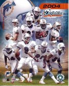 Dolphins 2004 Miami Team 8x10 Photo