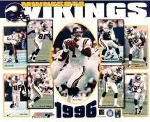 Vikings 1996 Minnesota Team 8X10 Photo