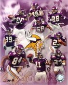 Vikings 2001 Minnesota Team 8X10 Photo