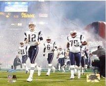 Patriots 2005 Introduction to Super Bowl Team 8x10 Photo