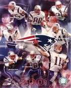 Patriots 2001 Team New England 8x10 Photo