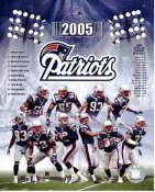 Deion Branch, Adam Vinatieri, Asante Samuel, Tom Brady Patriots 2005 SUPER SALE New England Team 8x10 Photo