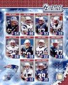 Asante Samuel, Rodney Harrison, Tedy Bruschi, Tom Brady Patriots 2006 SUPER SALE New England Team 8x10 Photo