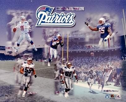 Patriots 1999 New England Team 8x10 Photo