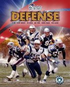 "Patriots ""Defense""  New England Team 8x10 Photo  LIMITED STOCK -"