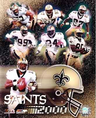 Saints 2000 New Orleans 8X10 Photo