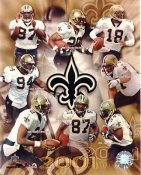 Saints 2001 New Orleans 8X10 Photo